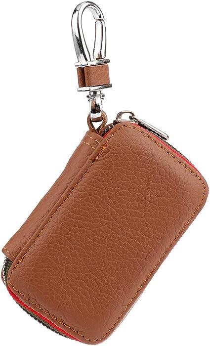 Caja de llaves, bolsa de caja de llaves de coche de color marrón ...