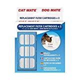 Cat Mate Replacement Filter Cartridges 6-Count by Cat Mate