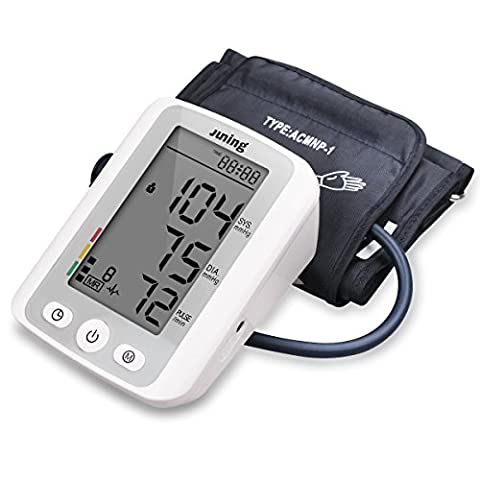 Blood Pressure Monitor- Automatic Digital Upper Arm Cuff - Accurate Portable and Perfect for Home Use - Easy-to-Read With Cuff that fits Standard Arm by - Automatic Arm