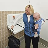 ECR4Kids Wall-Mounted Baby Changing Station with