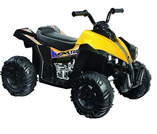 Kid Motorz Monster Quad in Black (12V) (Kids Ride On Power Toy)