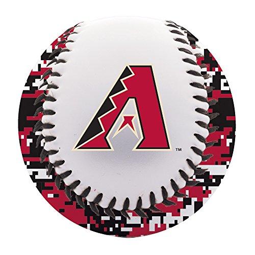 Franklin Sports Arizona Diamondbacks Baseball Teeball - Soft Strike - Digi Camo Graphic PVC Cover - Soft Core - MLB Official Licensed Product