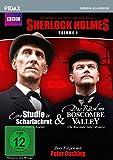 "Sherlock Holmes, Vol. 1 (Sir Arthur Conan Doyle's Sherlock Holmes) / 2 Folgen der legend""ren Krimierie mit Peter Cushing (Pidax Serien-Klassiker)"