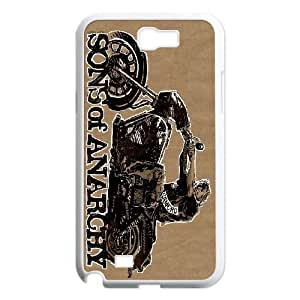 Samsung Galaxy Note 2 N7100 Phone Case White Sons Of Anarchy HCM109639