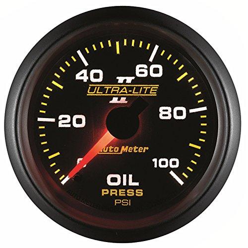 Auto Meter 4921 Ultra-Lite II Oil Pressure Gauge