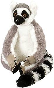 Wild Republic Ring Tailed Lemur Plush, Stuffed Animal, Plush Toy, Gifts for Kids, Cuddlekins 12 Inches