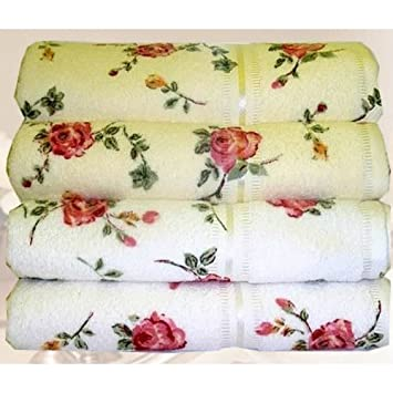 handtücher rosenmotiv