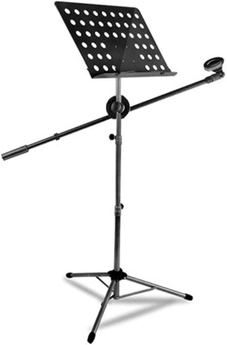 Atril Musica, Stand Para Partituras Plegable Portátil Ligero ...