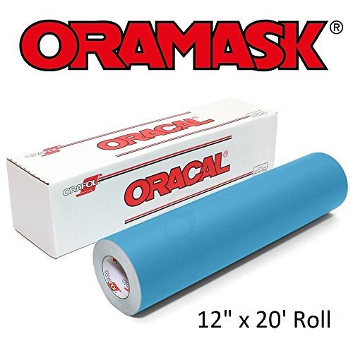 Oracal ORAMASK 813 Stencil Film 12 Inch x 20 Foot Roll