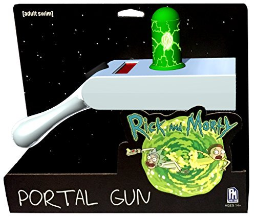 RICK AND MORTY Rick & Morty Exclusive Chrome Portal Gun Collectible Toys -