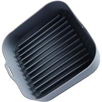 HEMOTON Panela de silicone para fritadeira a ar de substituição de forros de papel pergaminho fritadeira a ar, placa de…