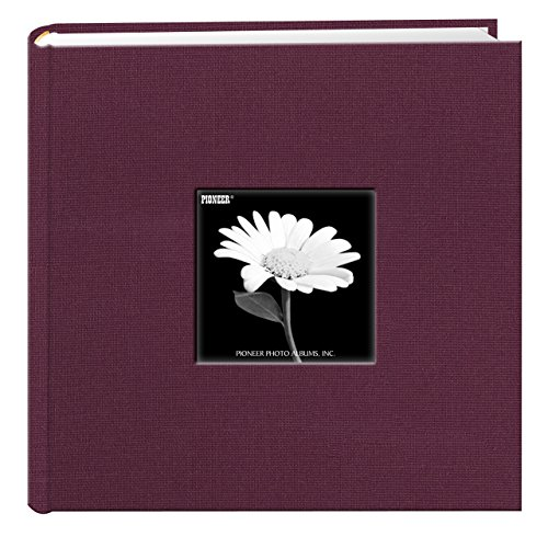 Pioneer Natural Color Fabric Frame Photo Album, Fabric Cover