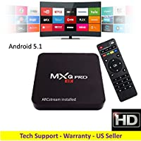 ARCstream MXq PRO - Android 5.1 S905 Quad Core 1GB/8GB 2.0GHz Processor