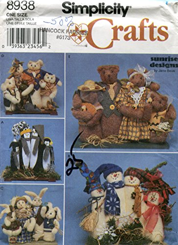 (Simplicity Crafts Pattern 8938 ~ 17