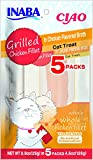 #9: INABA Ciao Grilled Chicken Fillets in Chicken Flavored Broth Cat Treats 5 Pieces