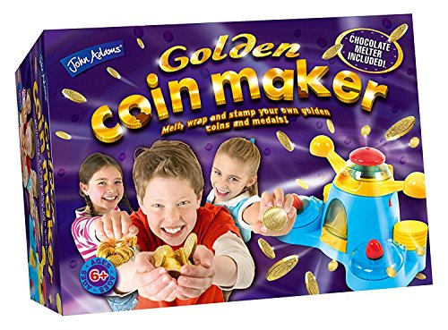 Childs / Kids Fun and Creative Activity Kit Toy - Golden Coin Maker - Make Your Own Gold Coins and Medals by JA Toys