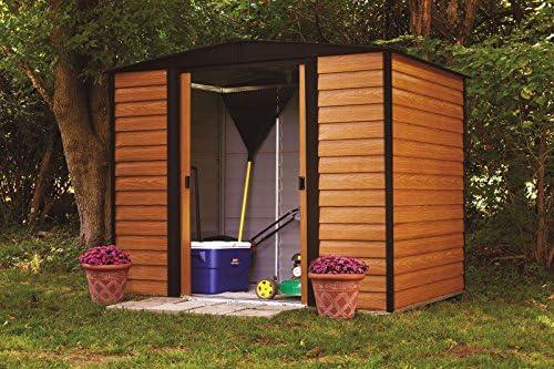 Pergart Cobertizo Frankfurt 86 estructura de madera: Amazon.es: Jardín
