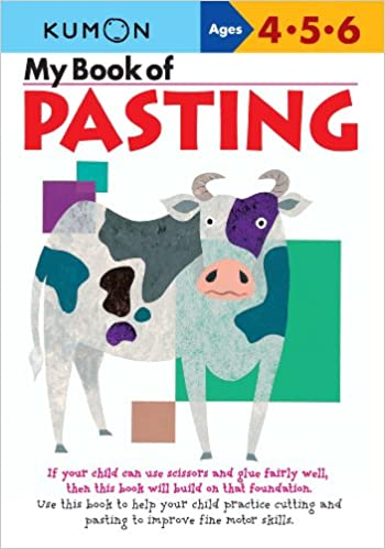 Amazon.com: My Book of Pasting (Kumon Workbooks) (9781933241029 ...