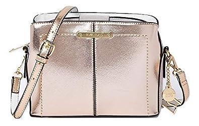 ecc2074334a River Island Gold Cross Body Bag  Amazon.co.uk  Shoes   Bags