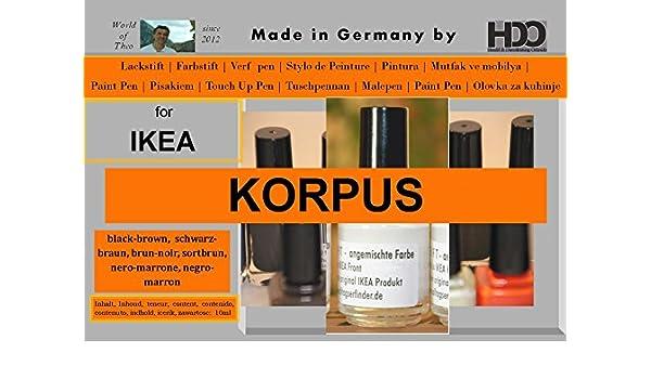 Amazon Com Touch Up Pen For Ikea Pax Korpus Black Brown Brum Noir