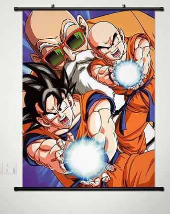 Wall Scroll Poster Fabric Painting For Anime Dragon Ball Mas