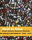 Need to Know: Social Science Research Methods, Lisa J. McIntyre, 0071232583