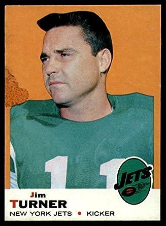 Amazon.com  Football NFL 1969 Topps  29 Jim Turner VG Very Good NY ... f816c56c2