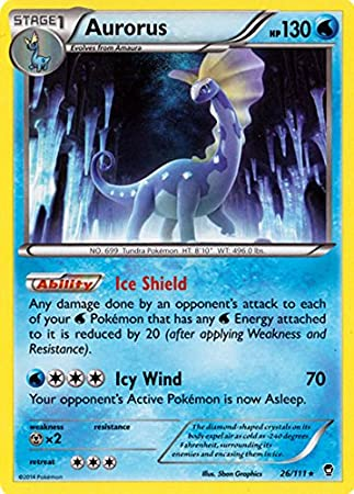 Pokemon Aurorus 26 111 Xy Furious Fists