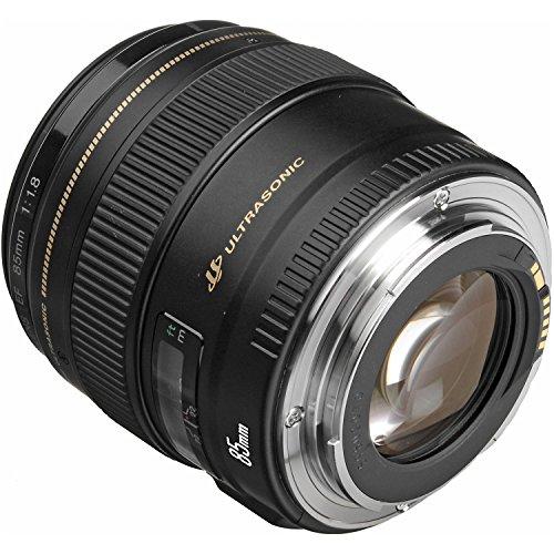 Canon EF 85 mm f /1,8 USM Teleobjetivo medio para cámaras Canon SLR - Corregido