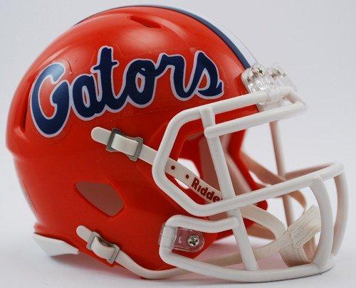 New Riddell UF Florida Gators Orange Speed Mini Football Helmet