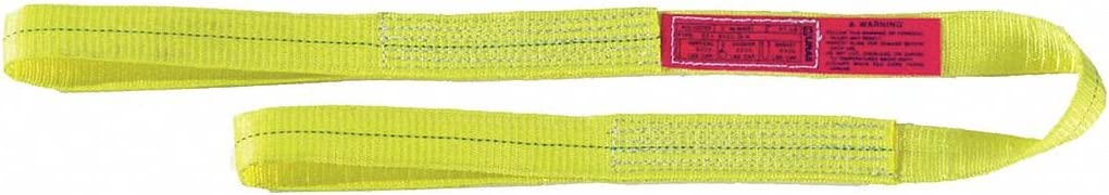 Number of Plies: 2 9 ft Nylon Flat Eye and Eye Type 3 Web Sling 3 W