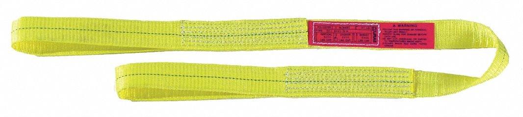 4 ft Number of Plies: 1 Nylon Flat Eye and Eye Type 3 Web Sling 2 W