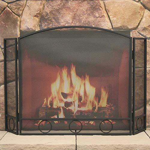 fireplace arch screen - 9
