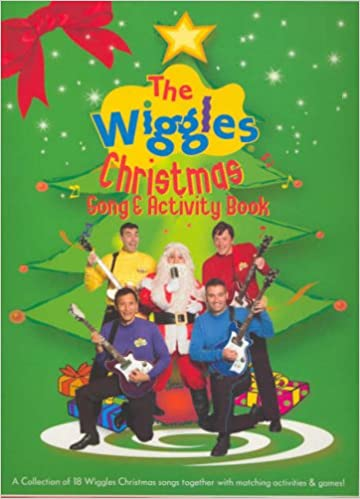 The Wiggles Christmas Song And Activity Book Mlc: Amazon.co.uk ...