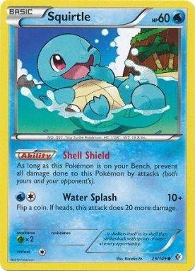 Pokemon - Squirtle (29/149) - BW - Boundaries Crossed