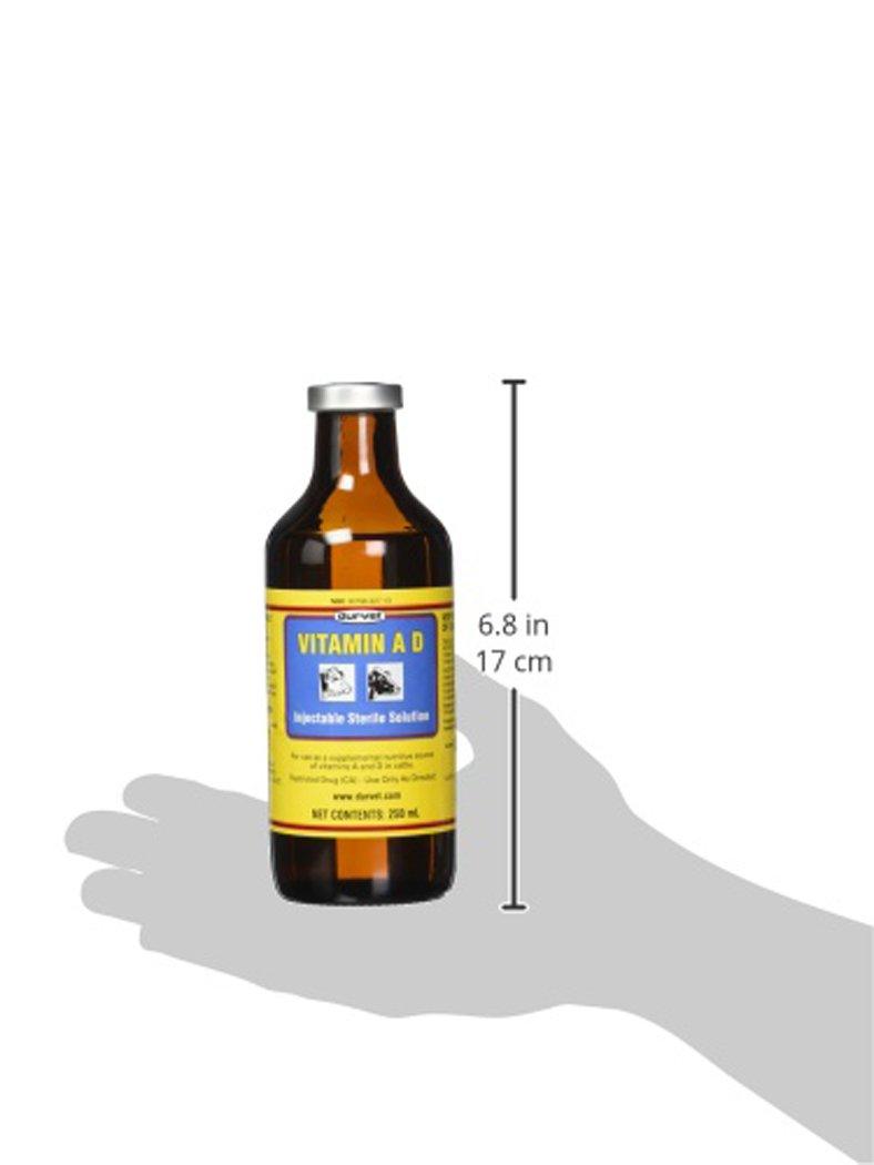 Durvet 002568 Vitamin Ad Injection, Yellow, 250ml by Durvet (Image #3)