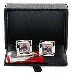 Ohio State Buckeyes - Ncaa Team Logo Cufflinks