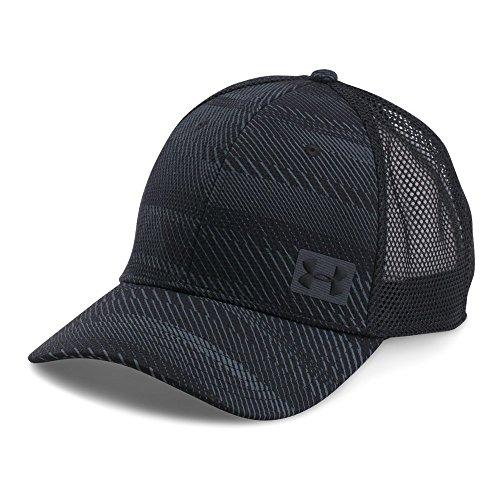 (Under Armour Men's Blitz Trucker Cap, Black (003)/Black, One Size )