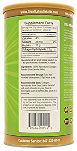 Great Lakes Gelatin 4 Pk Collagen Hydrolysate 16 - Ounce Cans And By The Cup Shaker Combo by Great Lakes