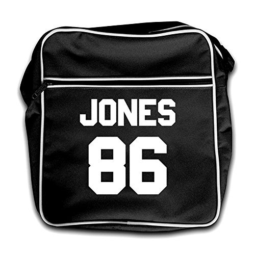 Bag Retro Red Flight Black 86 Jones qtg76g