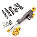 FXCNC Racing Motorcycle Steeering Damper with Bracket Kits fit for Honda CBR650R CBR650F CBR 650R 650F 2014 2015 2016