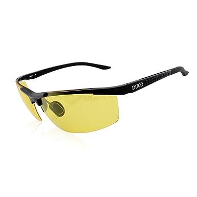 71eadd66bf9 Duco Night vision Glasses Anti glare Driving Polarized New Design Eyewear  8530 (Black)