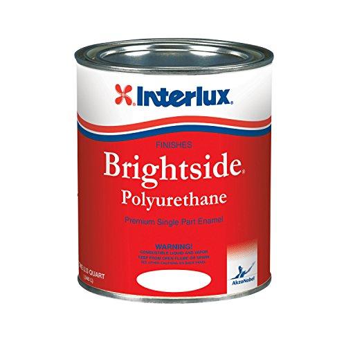 (Interlux Y4359/QT Brightside Polyurethane Paint (White), 32. Fluid_Ounces)