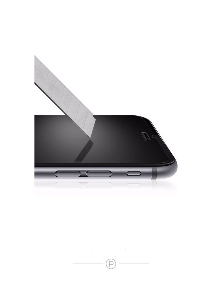 iPhone 7 8 Premium Glass Screen Protector, Smooth as Silk and Amazing Touch Feeling by OmarHayam (Image #2)