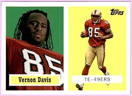 low priced 77c6e 8fb84 2006 Topps Turn Back the Clock #8 Vernon Davis SAN FRANCISCO ...