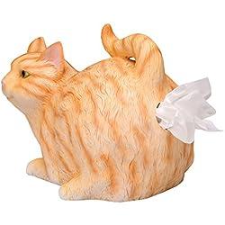 What On Earth Cat Butt Tissue Holder (Orange Tabby)