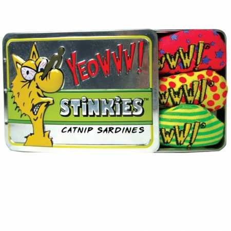 Yeowww Tin of Stinkies, 3 in a Sardine Tin, Multicolor, -