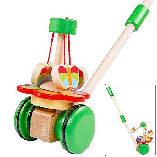Zhenyuベビー木製おもちゃキッズカートウォーカー動物子供の教育モンテッソーリ教育玩具赤ちゃんWalkers Gifts for Babyの商品画像