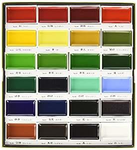 Zig Kuretake Gansai Tambi 24-Color Painting Set