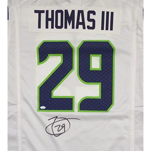check out e2dc8 8e963 low-cost Earl Thomas Autographed Jersey - White Nike Size L ...